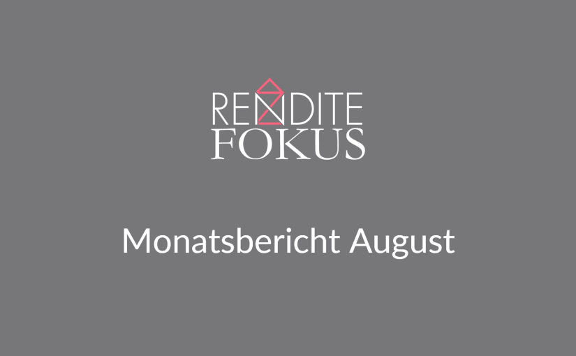 Monatsbericht August