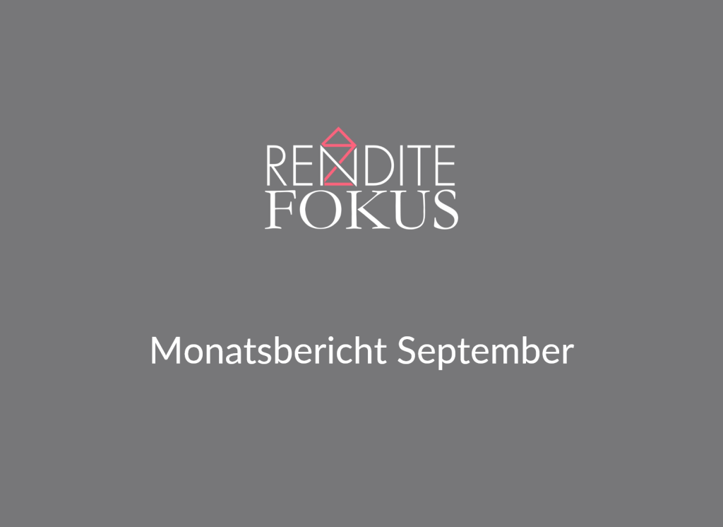 Monatsbericht September